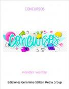 wonder woman - CONCURSOS