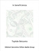 Topilde Belcanto - in beneficienza