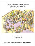 Ratojuani - Test: ¿Cuanto sabes de los personajes de GS?