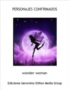 wonder woman - PERSONAJES CONFIRMADOS
