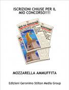 MOZZARELLA AMMUFFITA - ISCRIZIONI CHIUSE PER IL MIO CONCORSO!!!!