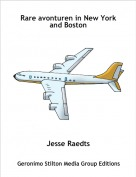 Jesse Raedts - Rare avonturen in New York and Boston