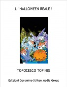 TOPOCESCO TOPINIG - L ' HALLOWEEN REALE !