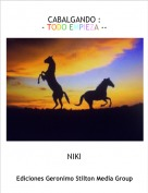 NIKI - CABALGANDO :- TODO EMPIEZA --