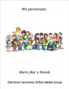 Marin,Mar y Deneb - Mis personajes.