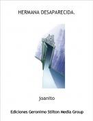 joanito - HERMANA DESAPARECIDA.