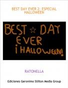 RATONELLA - BEST DAY EVER 2: ESPECIAL HALLOWEEN