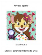 larafontina - Revista agosto
