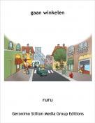 ruru - gaan winkelen