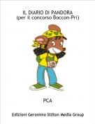 PCA - IL DIARIO DI PANDORA(per il concorso Boccon-Pri)