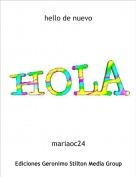mariaoc24 - hello de nuevo