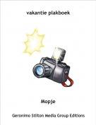 Mopje - vakantie plakboek