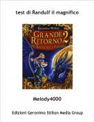 Melody4000 - test di Randulf il magnifico