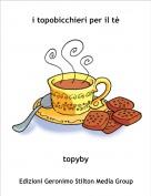 topyby - i topobicchieri per il tè