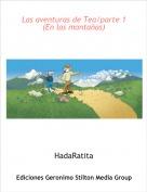 HadaRatita - Las aventuras de Tea/parte 1 (En las montañas)