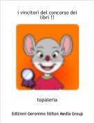 topaleria - i vincitori del concorso dei libri !!