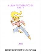 Alys - ALBUM FOTOGRAFICO DI PATTY