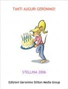 STELLINA 2006 - TANTI AUGURI GERONIMO!
