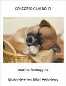 martha formaggina - CONCORSO CANI DOLCI