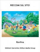 Ronfina - RIECCOMI SUL SITO!
