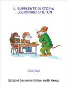 tintitop - IL SUPPLENTE DI STORIA ...GERONIMO STILTON