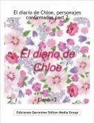 Elena <3 - El diario de Chloe, personajes confirmados part 2