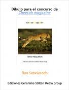 Don Sabelotodo - Dibujo para el concurso de Cheetah magazine