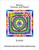 "B.mimli - Revista""Summer and Peace"""
