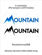 Ratobailarina2008 - 6 montañas(Personajes confirmados)