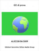 ALICE28/06/2009 - GCI di prova