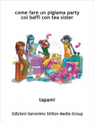 tapami - come fare un pigiama party coi baffi con tea sister
