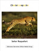Señor Roquefort - Cheetah magazine