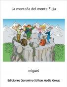 miguel - La montaña del monte Fuju