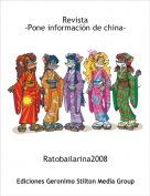 Ratobailarina2008 - Revista-Pone información de china-
