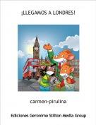 carmen-pirulina - ¡LLEGAMOS A LONDRES!