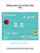 Ratoncita Lexy T. - Dibujo para la revista Like You