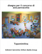 Topomimilina - disegno per il concorso di asia pannacotta