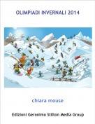 chiara mouse - OLIMPIADI INVERNALI 2014