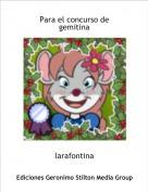 larafontina - Para el concurso de gemitina