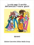 doremi - La mia saga: il cerchio dell'amicizia 1+storia  giochi