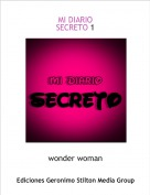 wonder woman - MI DIARIO