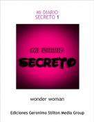 wonder woman - MI DIARIOSECRETO 1