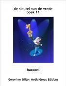 hasoeni - de sleutel van de vredeboek 11
