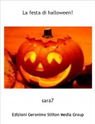sara7 - La festa di halloween!