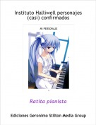 Ratita pianista - Instituto Halliwell personajes (casi) confirmados