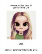 Lara - Manualidades para el concurso de Cris