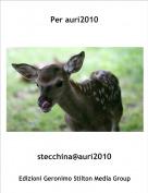 stecchina@auri2010 - Per auri2010