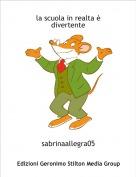 sabrinaallegra05 - la scuola in realta è divertente