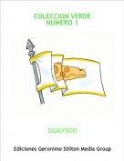 GUAY500 - COLECCION VERDE NUMERO 1