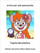 Topella Monellellina - avviso per asia pannacotta